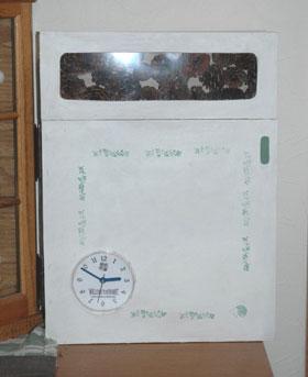 時計付きキーボックス