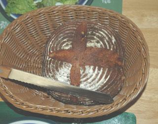ヨーグルト酵母のカンパーニュ