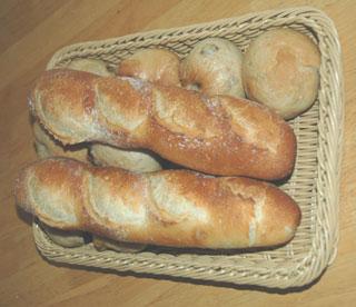 今日のフランスパン