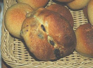 晩白柚ピールのパン