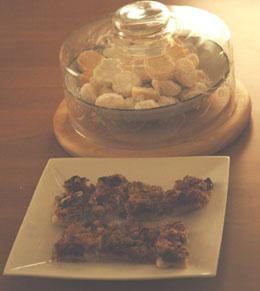 溶かしバターのスノーボールとヌガーのクッキー