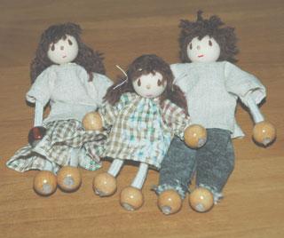ドールハウス用お人形