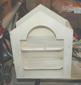 ドールハウス製作過程1