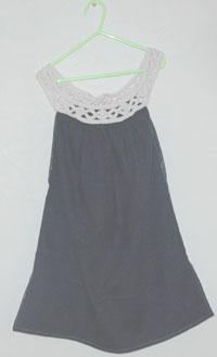 編み物と洋裁で作った服
