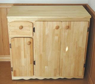 完成した家具