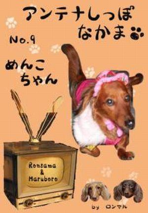 アンテナしっぽ仲間No.9 ロン様&マル