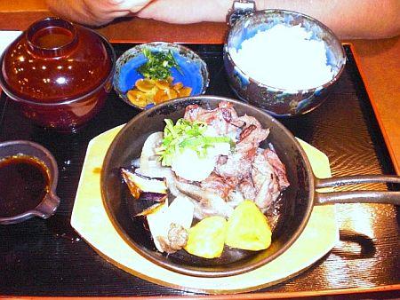 CIMG8526ステーキ定食