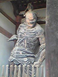 法隆寺中門金剛力士(吽形)