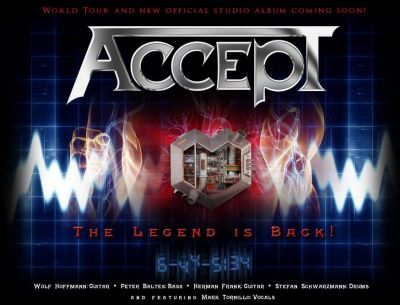 ACCEPT is back!!