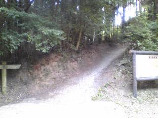 頂上への入口
