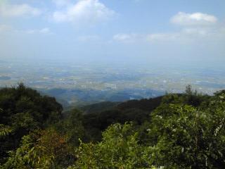 龍王山山頂からの絶景