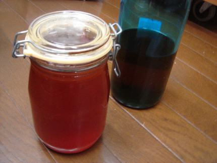 蜂蜜と梅酒