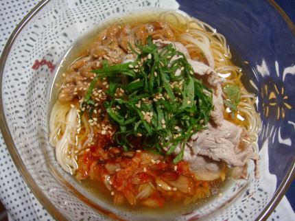 スタミナ素麺1
