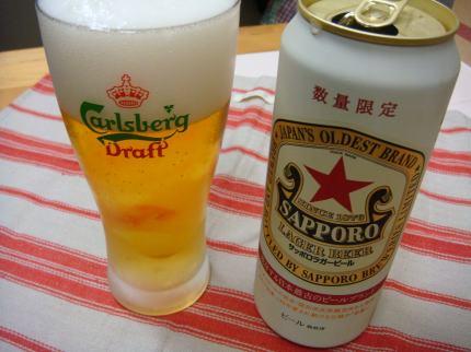 毎日ビール