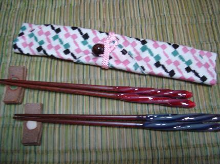 エコ箸ケースと箸