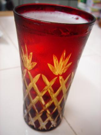 切子ビアグラス