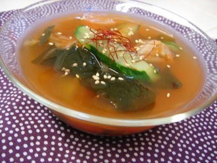 韓国風冷製スープ