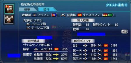 6月28日大海戦戦績