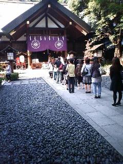 東京大神宮@行列の出来る参拝