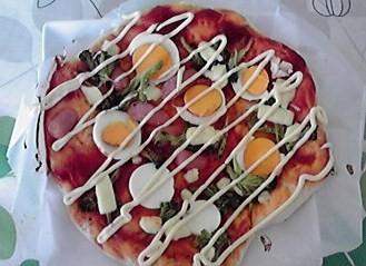 5日のピザ