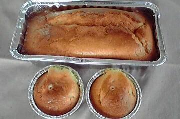 生クリームパウンドケーキ