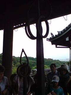 京都・清水寺(弁慶の杓杖)
