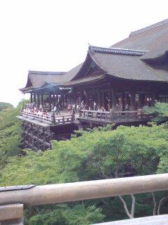 京都・清水寺(清水の舞台)