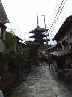 京都・八坂の塔1