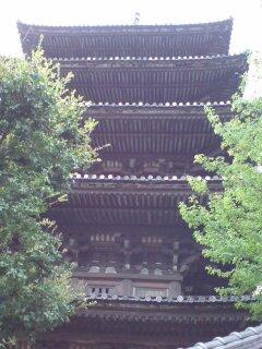 京都・八坂の塔2