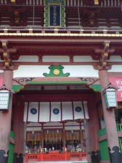 京都・伏見稲荷大社(楼門)