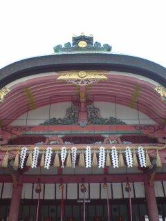 京都・伏見稲荷大社(本殿)