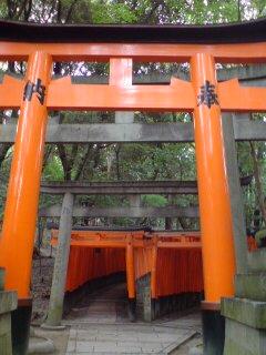京都・伏見稲荷大社(千本鳥居)