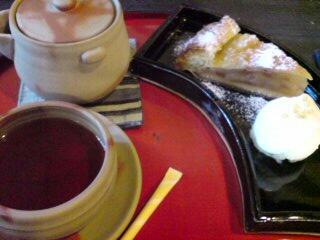 カフェ鎌倉・アップルパイ