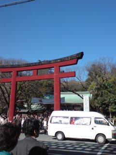 浅間神社・鳥居2