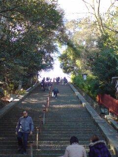 浅間神社・上り階段