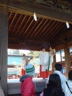 浅間神社・舞