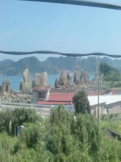 勝浦~白浜2(橋杭岩)