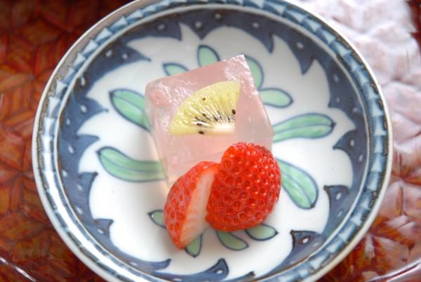 桜のゼリー