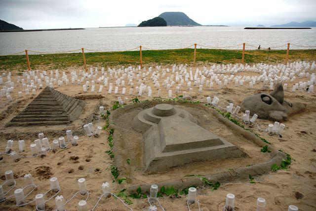 ピラミッドと前方後円墳