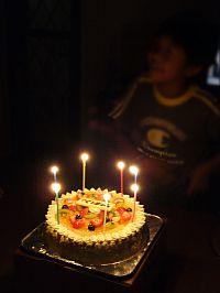 お誕生日ケーキとそーくん
