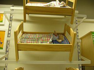 くまちゃんのベッド
