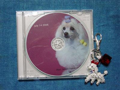 CDとキーホルダー