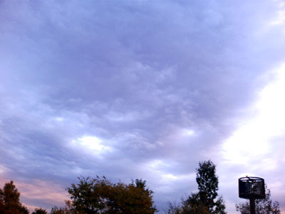 怪しい空?