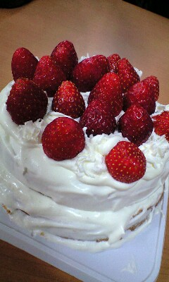 そえちゃん作ケーキ