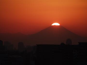 2006/1/29アクロシティ12Fからの富士山