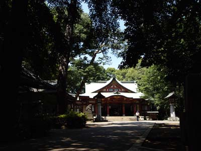 世田谷八幡宮