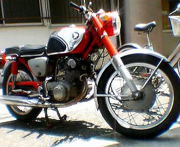 HONDA CB72 2型