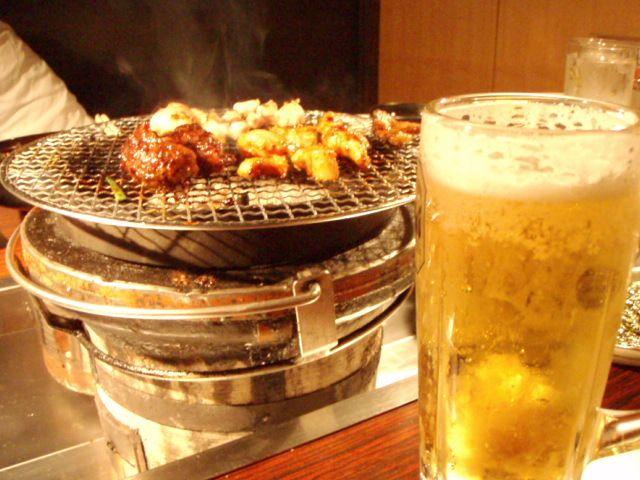 ビール&焼肉
