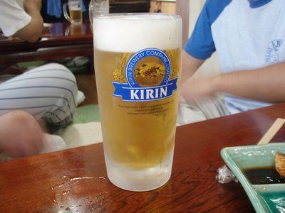 ソフトのビール