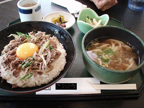 牛丼セット1